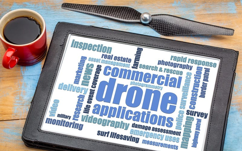 Drone Applications and Security Risks - Risk Group