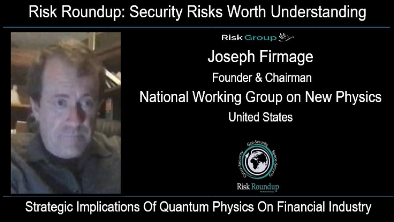 Strategic Implications Of Quantum Physics On Financial Industry - Risk Group